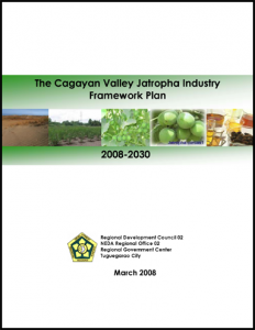 The Cagayan Valley Jatropha Industry Framework Plan 2008_2030